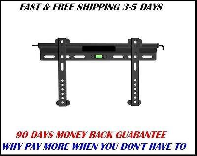Ultra Slim Low Profile TV Wall Mount Bracket LED LCD Plasma 23 37
