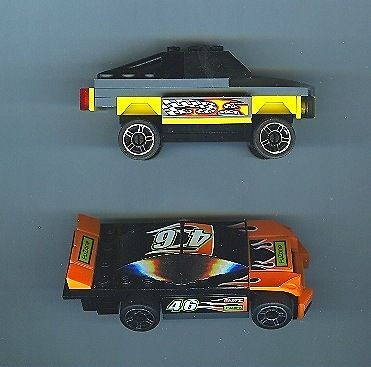 Used LEGO Sport Car Truck Race Racer Racing Rally