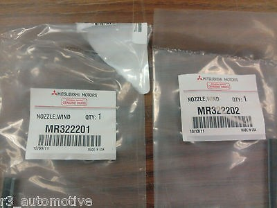 Mitsubishi Eclipse Factory OEM Windshield Washer Nozzles   Set of 2