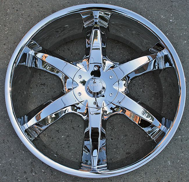 AKUZA LACUNA 760 20 CHROME RIMS WHEELS FORD TAURUS CONTINENTAL