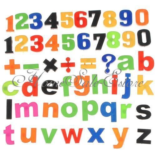 Magnet Fridge Number Alphabet Letter Lower Case Baby Xmas Toy Big
