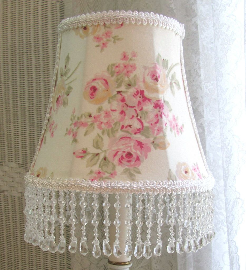 Made w Ashwell Simply Shabby Chic Blush Beauty Rosebloom Fabric