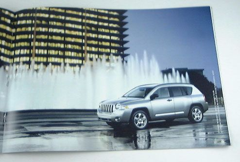 2007 07 Jeep Compass Truck SUV Brochure Sport Limited
