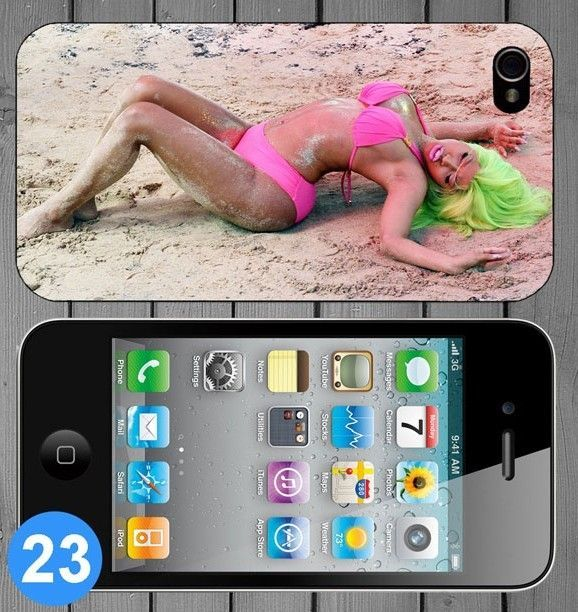Beautiful Sexy Hot Pink Nicki Minaj Hard Back Cover Case for Apple