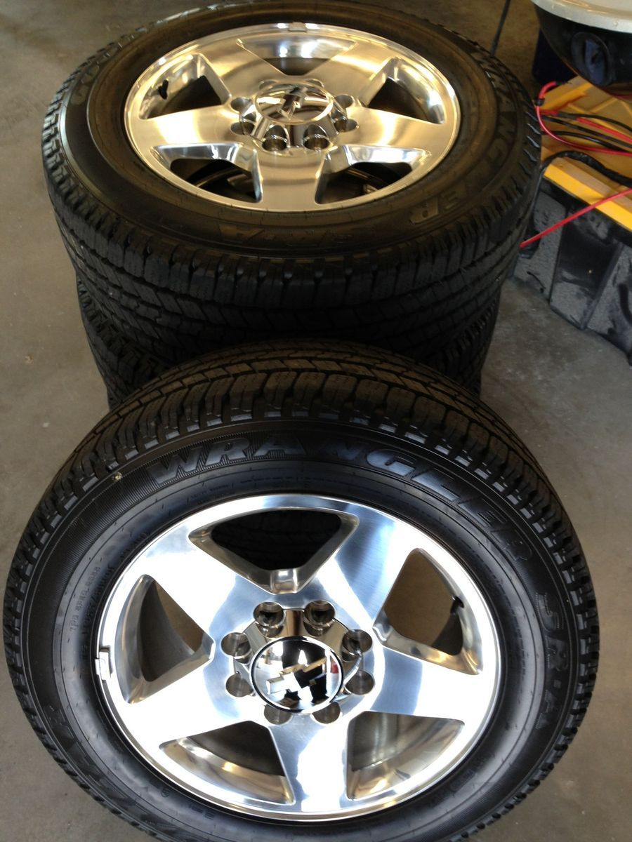 20 2013 Chevy Silverado 2500 Polished Wheels Tires Rims