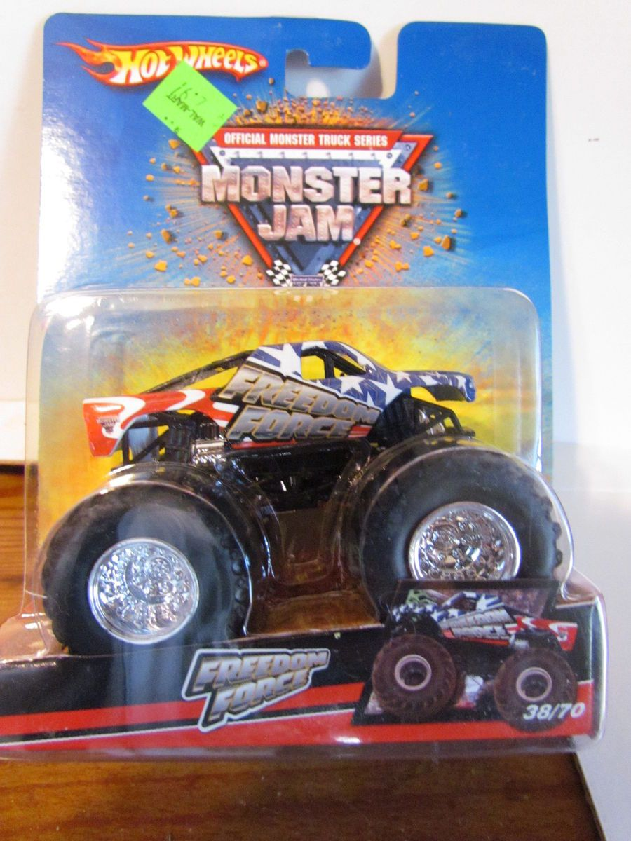 Freedom Force 2008 38 70 Rare Hot Wheels Monster Jam Original On Popscreen