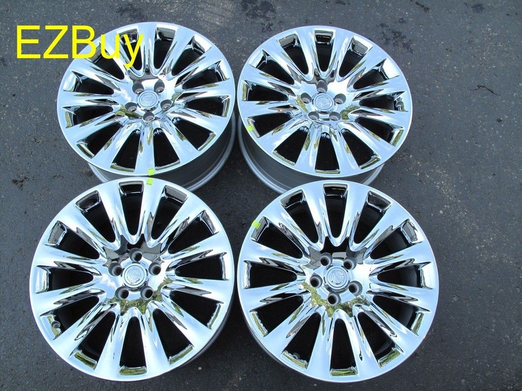 20 CHRYSLER 300 2011 CHROME FACTORY WHEELS RIMS BRAND NEW SET OF FOUR