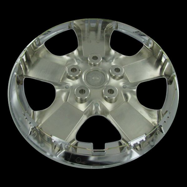 Rogue Chrome Hubcaps Center Hub Caps Wheel Rim Covers Free SHIP